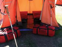 World expeditions gear at Ghat permanent campsite |  <i>Keri May</i>