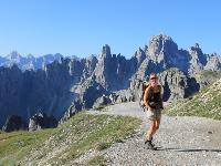 Trekking in the Dolomites is one of the great walking experiences of Europe |  <i>Jaclyn Lofts</i>
