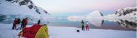 Camping on the ice in Antarctica |  <i>Justin Walker</i>
