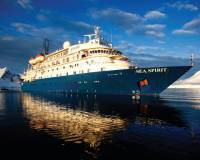 The MV Sea Spirit |  <i>Georgina Strange</i>