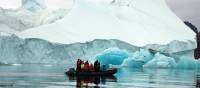 Zodiac cruising in the Arctic | Rachel Imber