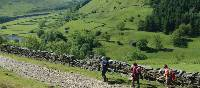 Above Swaledale, walking in England