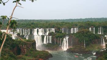 The numerous cascading falls of Iguazu, Argentina | Ian Williams