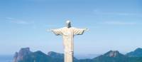 The spectacular Christ the Redeemer overlooks Rio