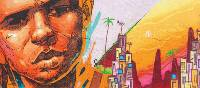 Vibrant street art walking through Rio | Scott Pinnegar