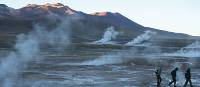 Sunrise at El Tatio Geysers, Atacama desert, Chile | Ian Cooper