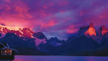 Sunrise from Lago Pehoe | Carole Solomons
