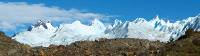 Mountain views as we trek through Los Glaciares National Park |  <i>Nathalie Gauthier</i>