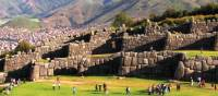 Sunshine over the ancient Inca ruins of Sacsayhuaman above Cusco | Sue Badyari