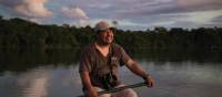 Our guide William has a passion for the birdlife to been seen in the Peru Amazon jungle | Mark Tipple