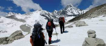Stunning views on the trek back to Ghunsa | Ray Mustey